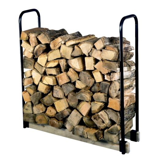 Shelter Tubular Steel 13 In. x 42 In. Log Rack Kit