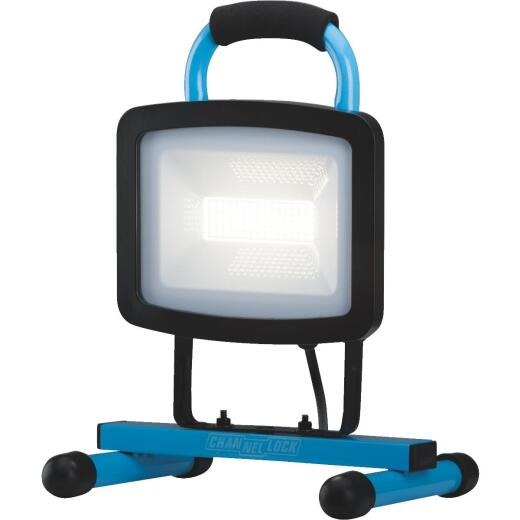 Channellock 6600 Lm. LED H-Stand Portable Work Light