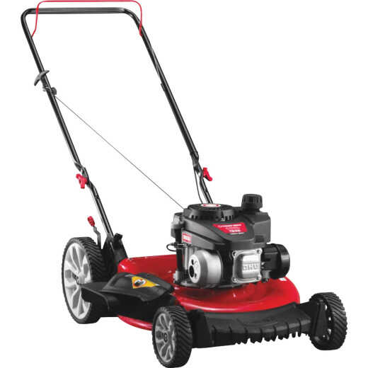 Troy-Bilt 21 In. 140cc High Wheel Push Mower with Mulch and Side Discharge
