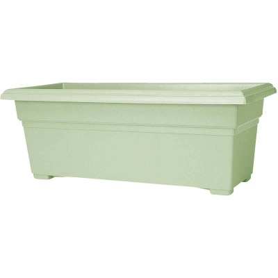 Novelty Countryside 30 In. Plastic Sage Flower Box Planter